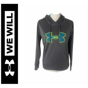 ~Women's size small under armour big logo hoodie